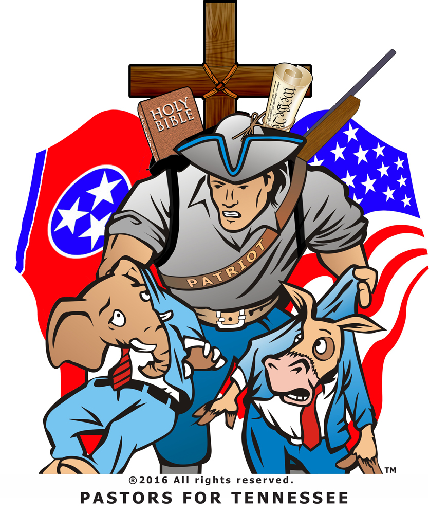 TN PATRIOT LOGO pastors for tn